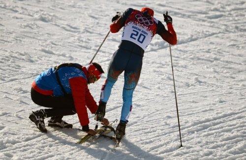 Канадский тренер помог российскому спортсмену (3 фото + видео)