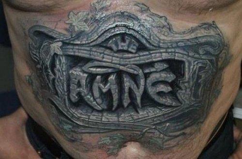 Восхитительные 3D-татуировки (20 шт)
