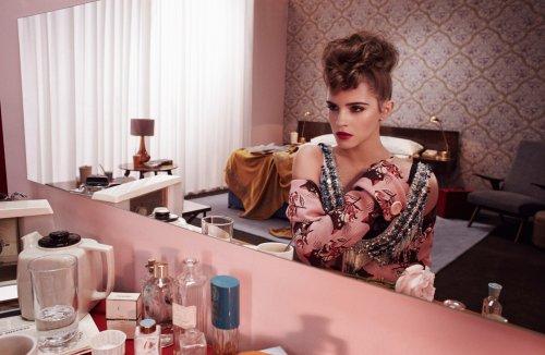 Эмма Уотсон в фотосессии для февральского номера журнала Wonderland (5 фото + видео)