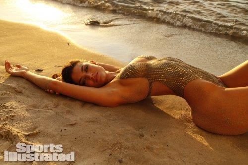 Бодиарт-купальники на моделях в Sports Illustrated Swimsuit 2014 (39 фото)