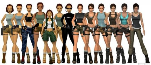 Эволюция персонажей видеоигр (23 фото)
