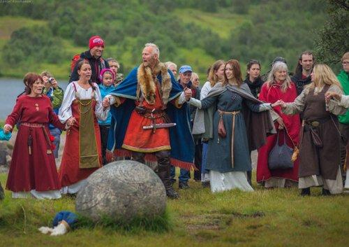 Фестиваль викингов на Лофотенских островах (39 фото)