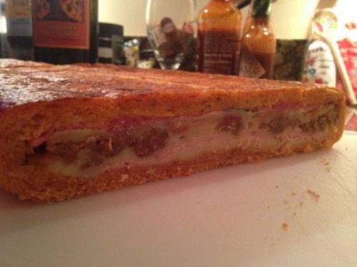 Ещё один мужской способ приготовления сэндвича (23 фото)