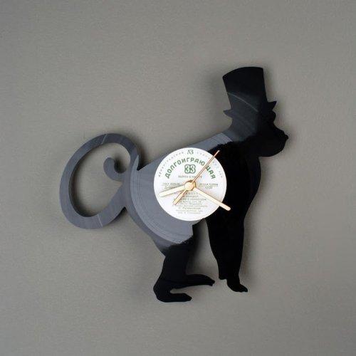 Виниловые часы от Павла Сидоренко (20 фото)