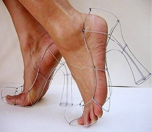 25 Примеров невероятных женских туфель на высоком каблуке
