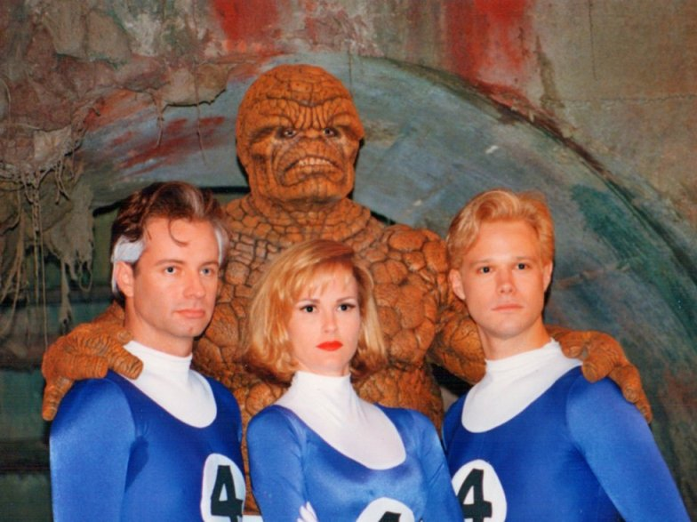 Фантастическая четверка (1994) - КиноПоиск