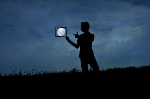 Лунные фотографии Адриана Лимани (8 шт)