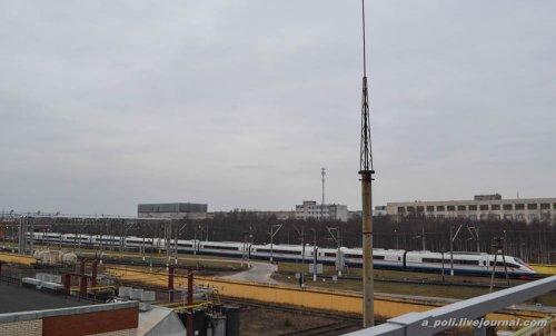 Между Москвой и Санкт-Петербургом будет курсировать сдвоенный состав Сапсана (21 фото)