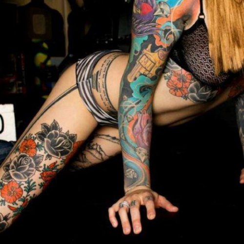 Татуировки на любой вкус (28 фото)