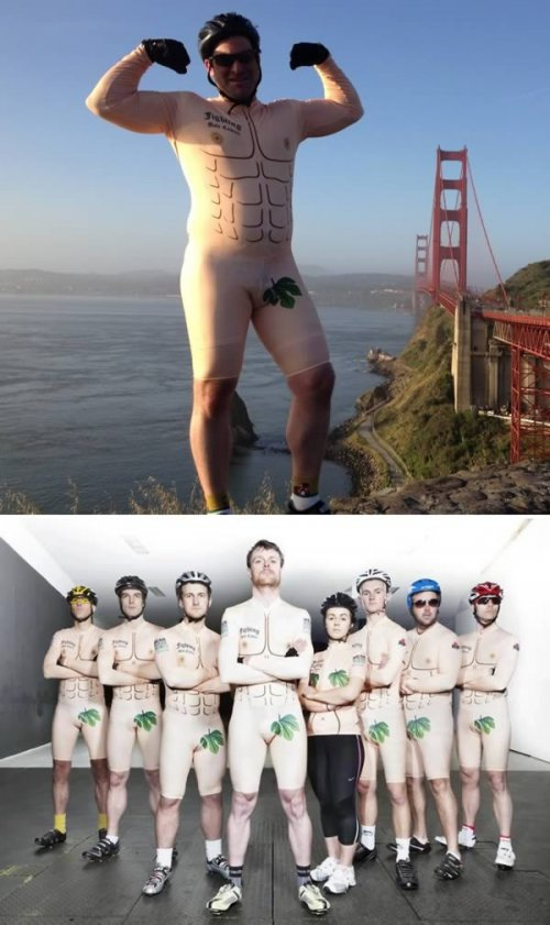 10 Самых прикольных обтягивающих костюмов