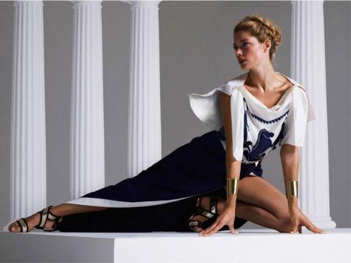 Даутцен Крус в фотосессиях для Victoria's Secret и Vogue Турция (24 фото)