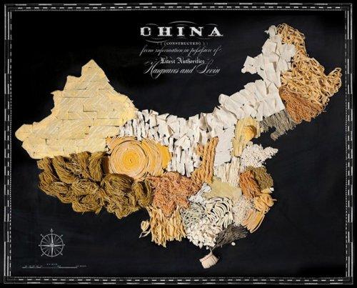 Гастрономическая карта мира глазами Генри Харгривза и Кейтлин Левин (11 фото)