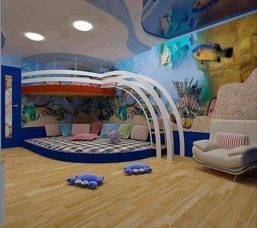 Потрясающие детские комнаты (31 фото)