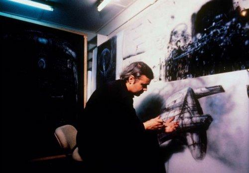 За кулисами фильма Чужой во время создания образов пришельцев (12 фото)