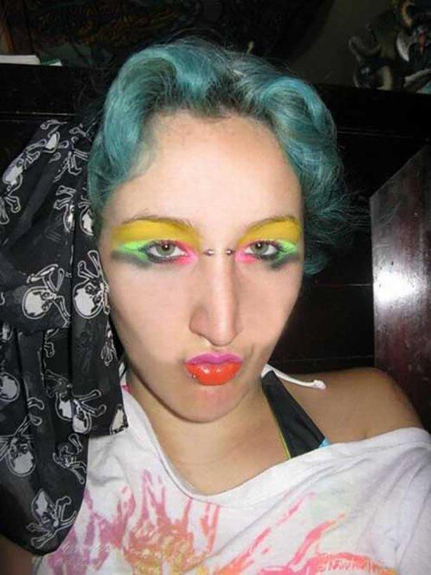 Приколы жертвы макияжа