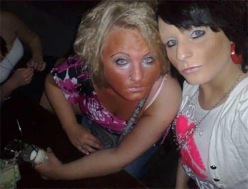 Жертвы макияжа (31 фото)