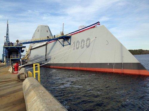 USS Zumwalt: военный корабль США за 3 миллиарда долларов (11 фото)