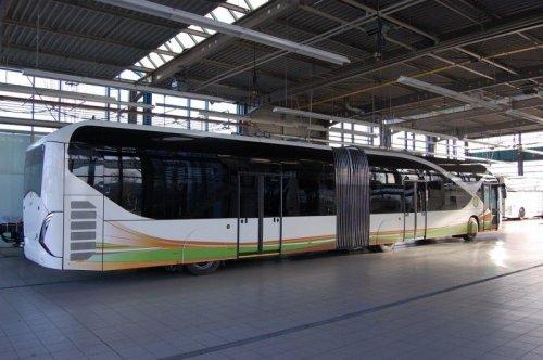 Троллейбусы класса люкс для королевской семьи Саудовской Аравии (8 фото)