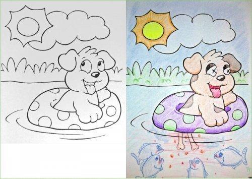 Что будет, если книжка-раскраска попадёт в руки взрослого (17 фото)