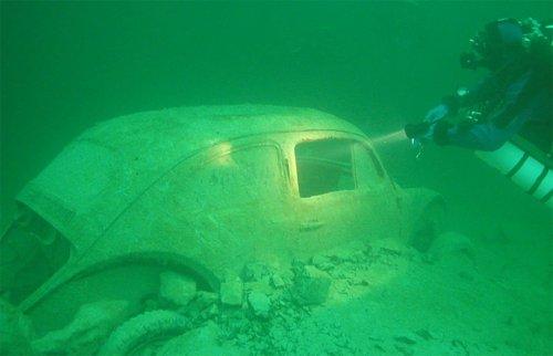 Топ-10 Удивительных техногенных подводных открытий