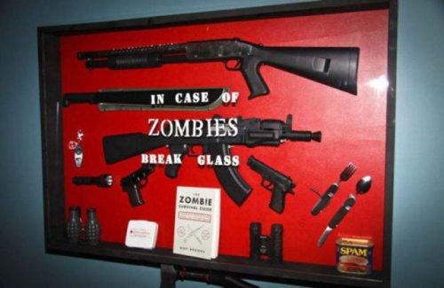 Идеальное оружие в случае зомби-апокалипсиса (33 фото)