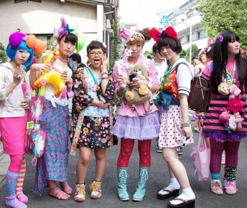 Токийские модники и фрики (33 фото)