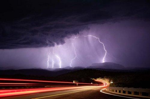 Стихия природы: грозы и ураганы (28 фото)