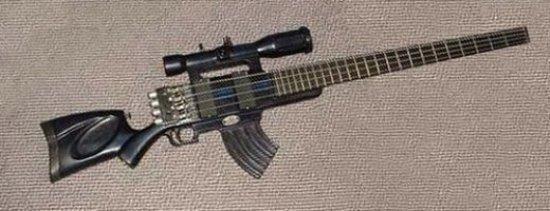 Гитара  из лопаты