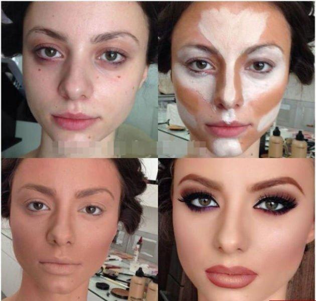 Как наносить макияж своими руками