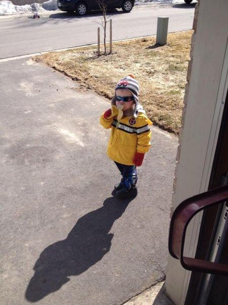 Настоящая Интернет-сенсация: мальчик с бананом (24 фото)