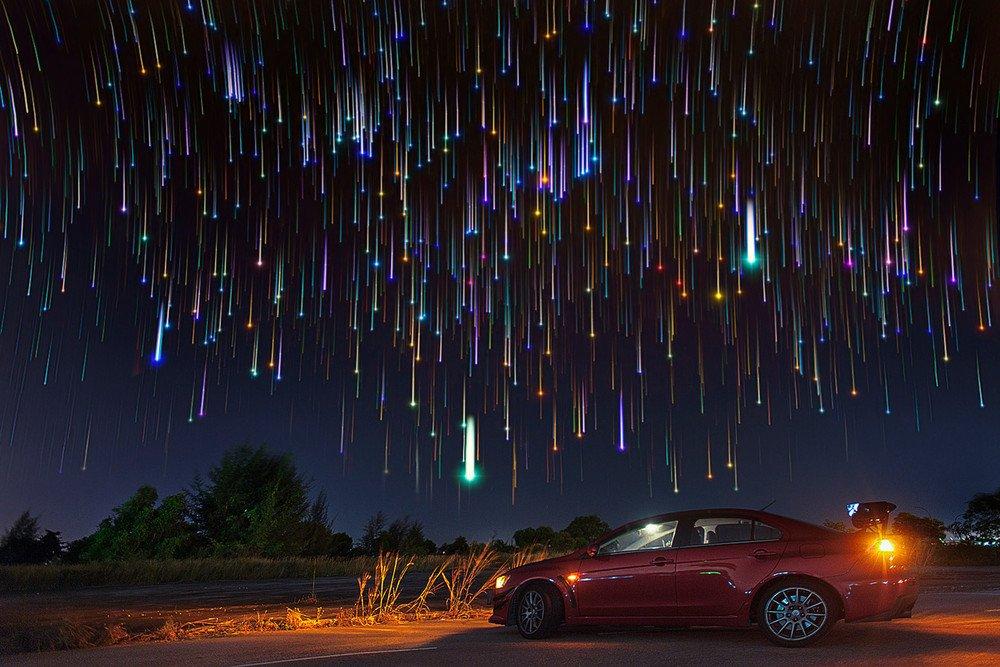 также расскажем, ночная фотосъемка звезд модельном