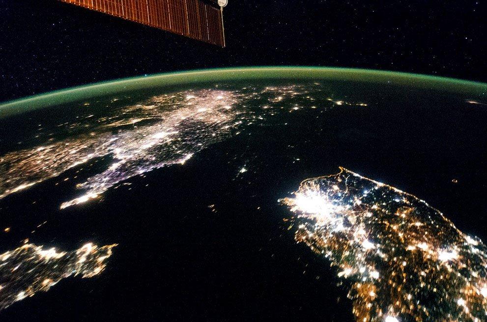 имеет устойчивый фото северной кореи ночью из космоса растение