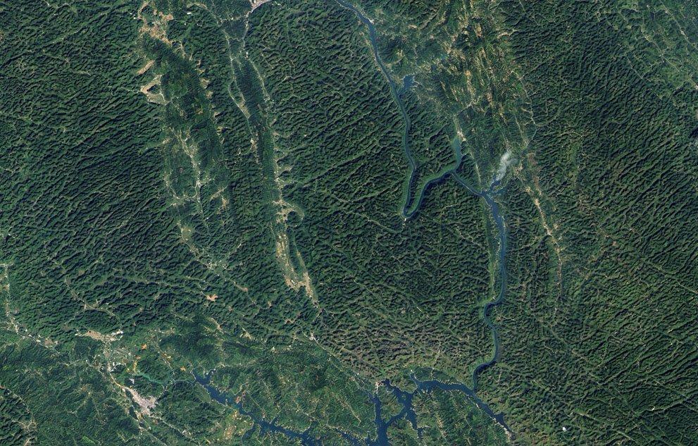 ульяновская область фото из космоса кто гуляет