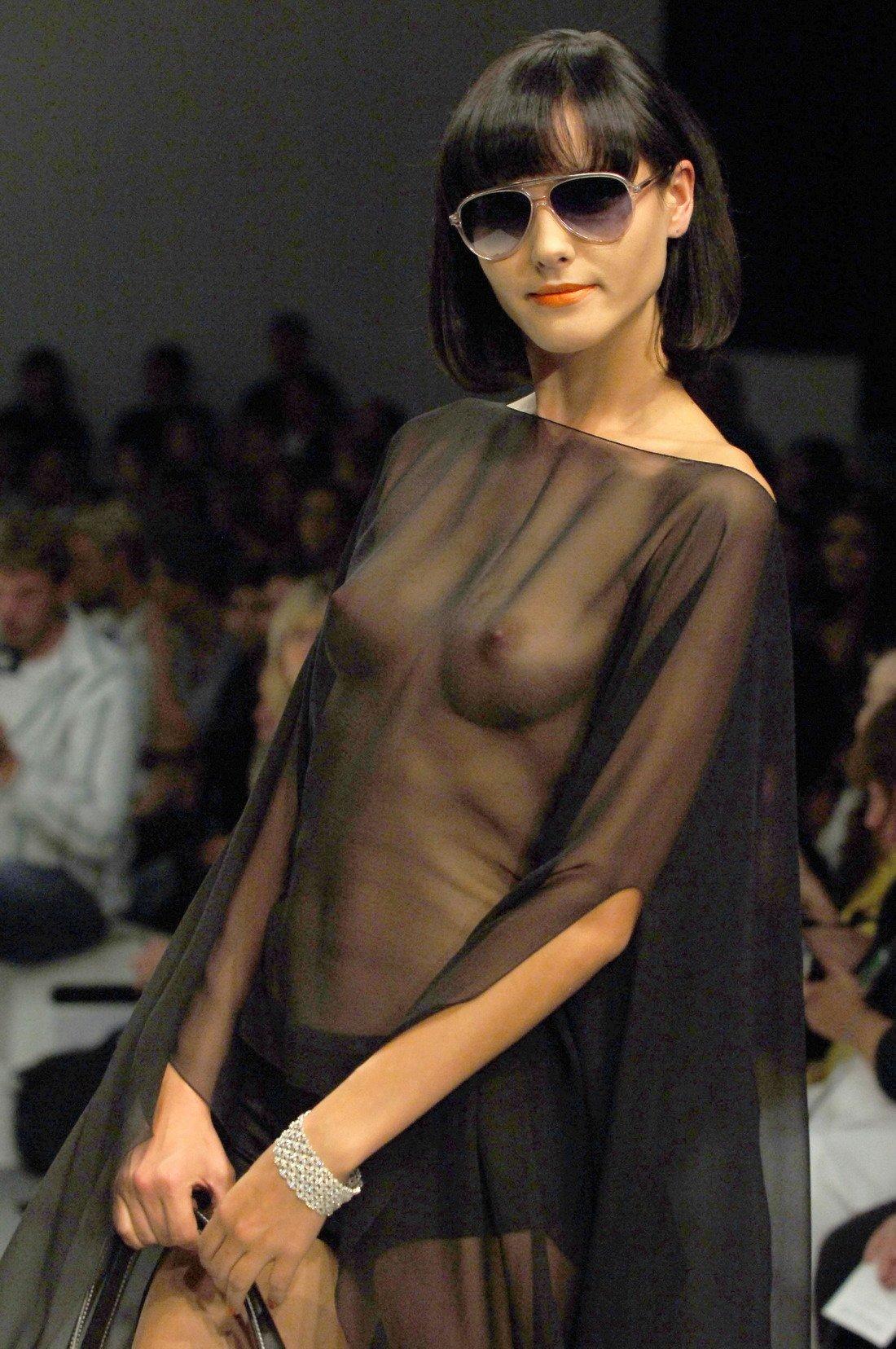 Nude catwalk photos