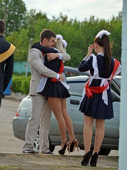 Фотто самых сексуальнх выпускниц