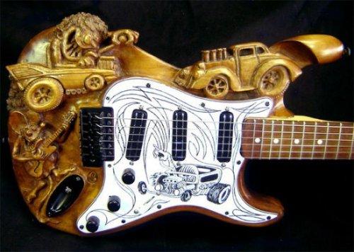 Гитары с самым необычным дизайном (27 фото)