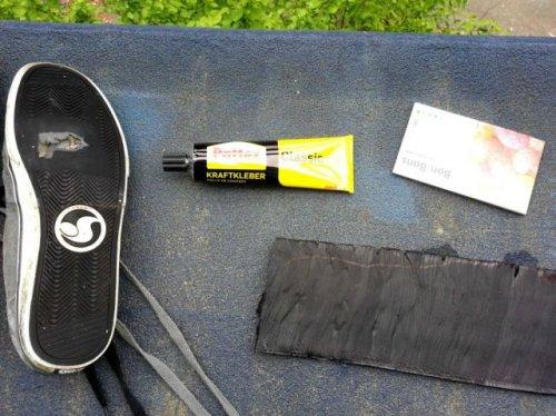 Бюджетный способ починить подошву кроссовок (16 фото)