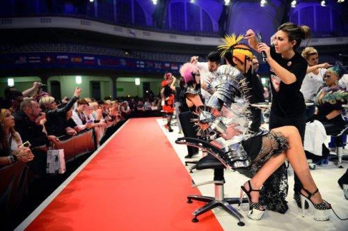 Международный чемпионат парикмахерского искусства во Франкфурте (26 фото)
