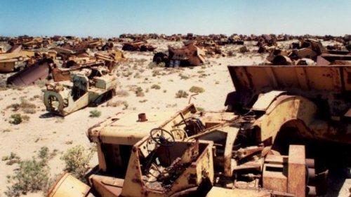 Топ-10 Захватывающих кладбищ транспортных средств со всего мира
