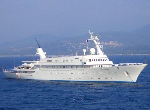 Топ-20 Самых крупных яхт, когда-либо спущенных на воду