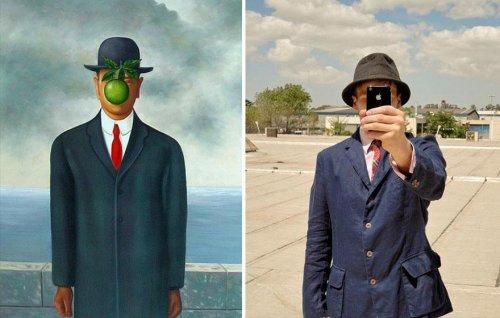 20 Современных ремейков известных картин