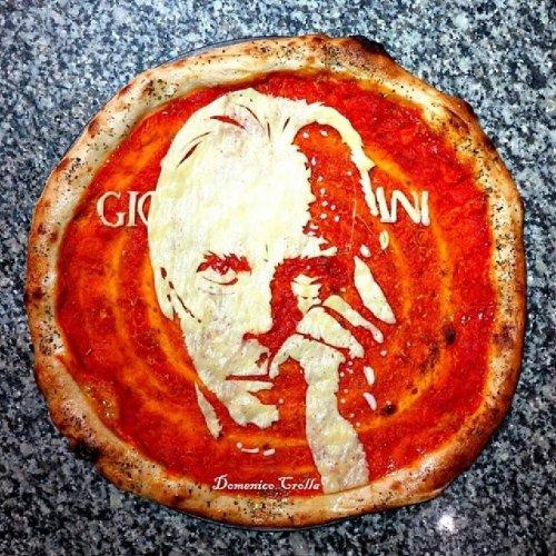 Pizza art от Доменико Кролла (18 фото)