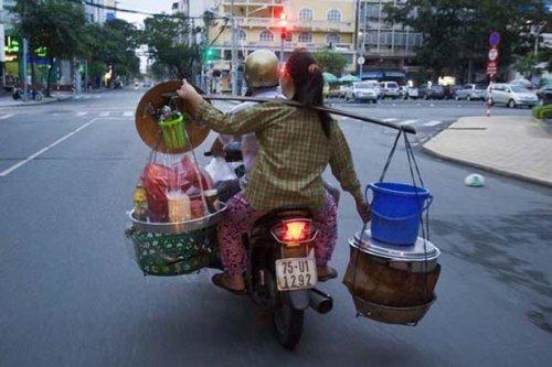 Сумасшедшие грузоперевозки по-вьетнамски