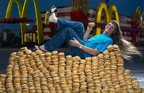 10 Наименее впечатляющих рекордов Гиннесса, связанных с едой