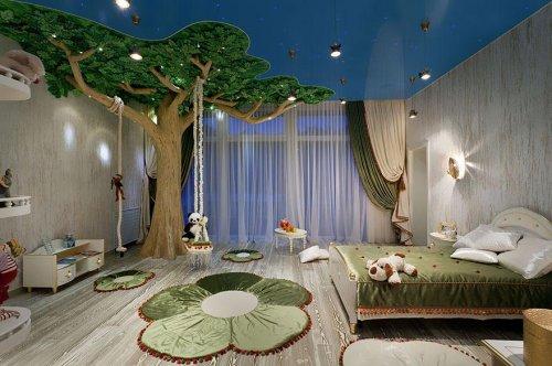 22 Креативные идеи для оформления детских комнат (31 фото)