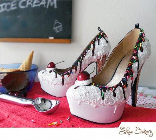 """""""Сладкая"""" обувь от Shoe Bakery (13 фото)"""