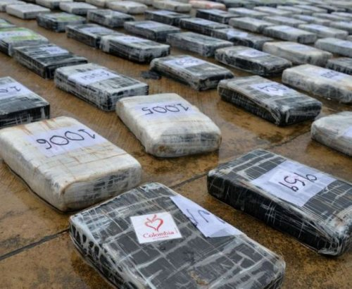 Видели ли вы когда-нибудь столько кокаина? (8 фото)