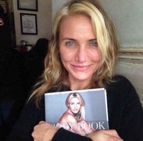 Знаменитости без макияжа (24 фото)