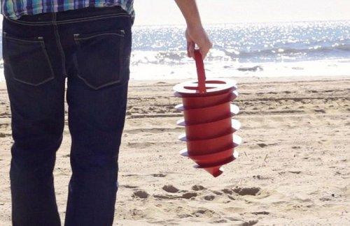 Фотозагадка дня: для чего служит это пляжное приспособление? (4 фото)