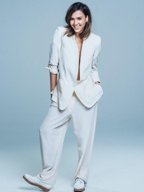Джессика Альба в фотосессии для Glamour (июнь 2014) (5 фото)